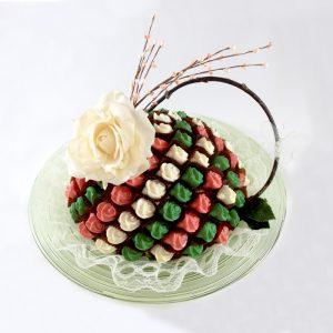 Chocolate Rose Arrangement