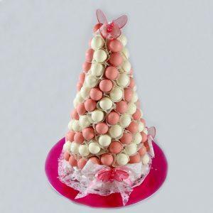 Chocolate truffles tower