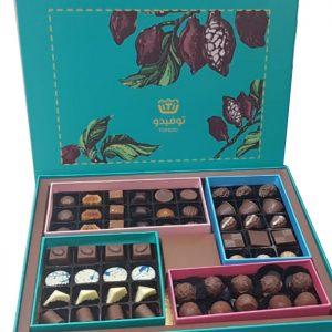 chocolate arrangement green