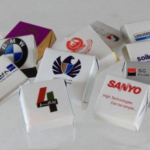 corporate choco branding