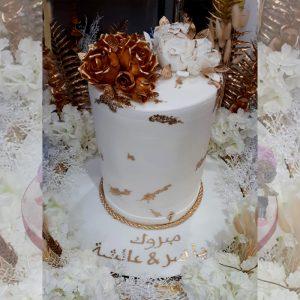 wedding cake design no. 1